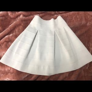 White bubble skirt NEW NEVER WORN from H&M
